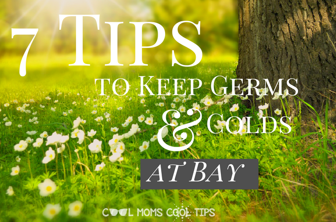 7 Tips to Keep Germs and Colds at Bay #ShareKleenexCare
