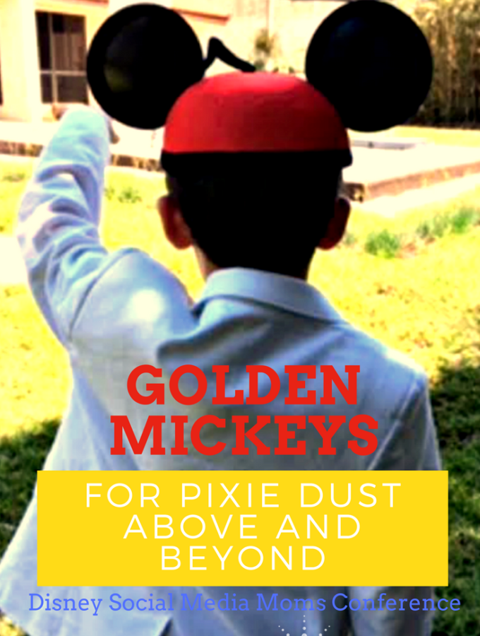 Golden Mickeys For Pixie Dust Above and Beyond #DisneySMMC