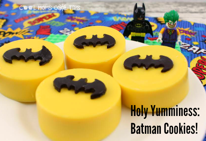 Candy Melt Covered Batman Cookies Recipe