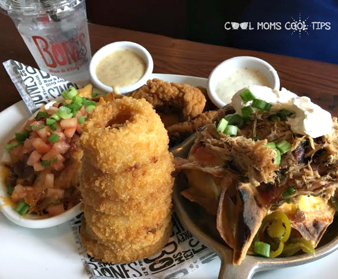 Smokey Bones Bar and Fire Grill Review and Giveaway