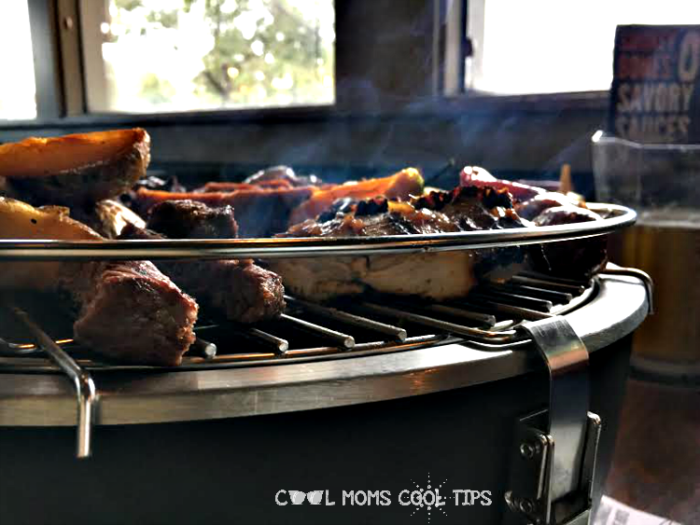 smoking table top grill cool moms cool tips