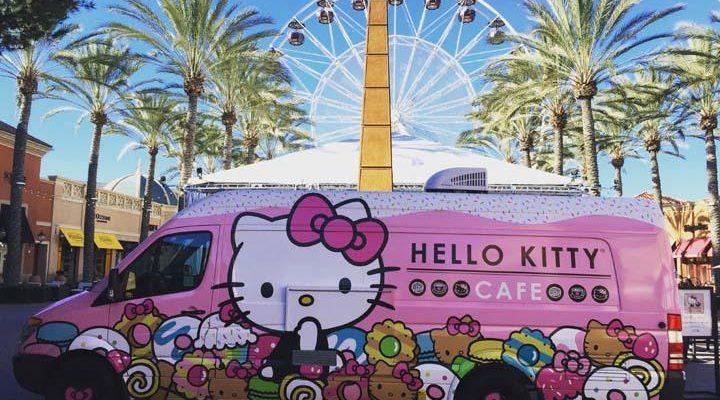 Hello Kitty Cafe Truck In Miami