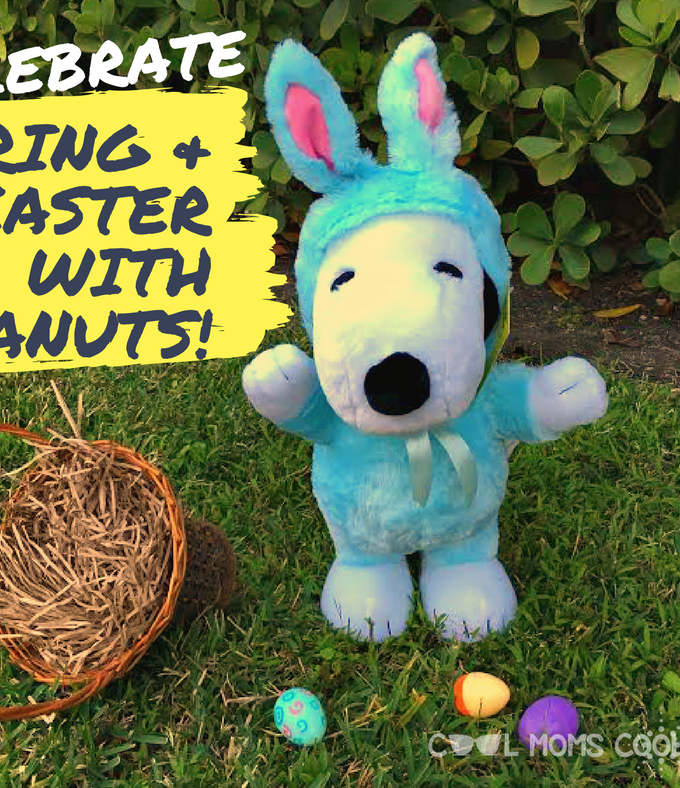 Celebrate Easter and Spring The Peanuts Way #PeanutsAmbassador #Giveaway