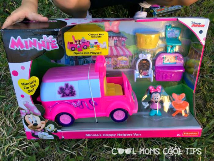 mickey and the roadster racers handy helper van