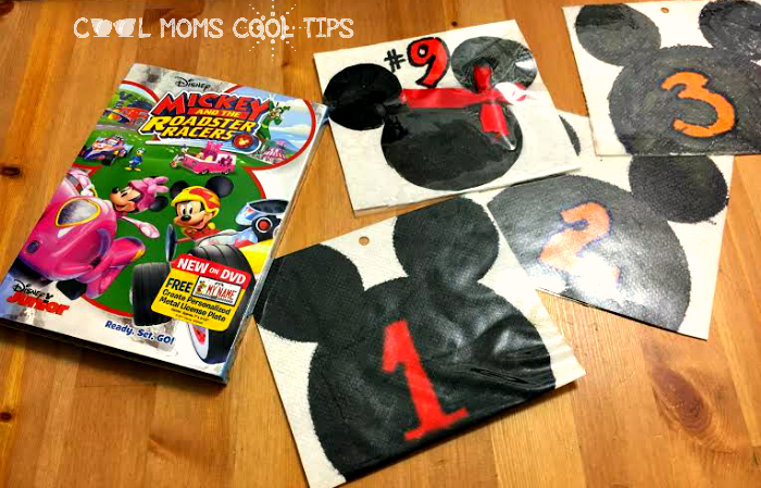 mickey and the roadter races inspired racer bibs cool moms cool tips