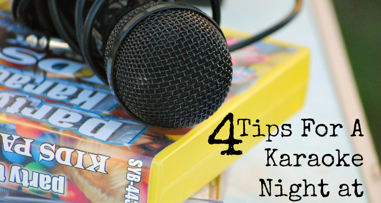 4 Tips For A Cool Karaoke Night at Home