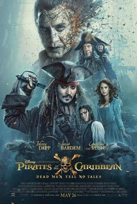 Pirates of The Caribbean: Dead Men Tell No Tales New Trailer