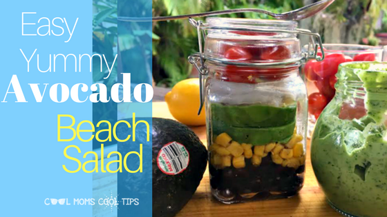 Yummy and Cool Avocado Beach Salad Recipe