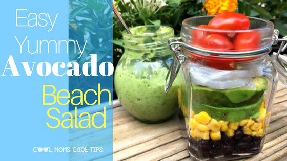 easy yummy avocado beach salad cool moms cool tips
