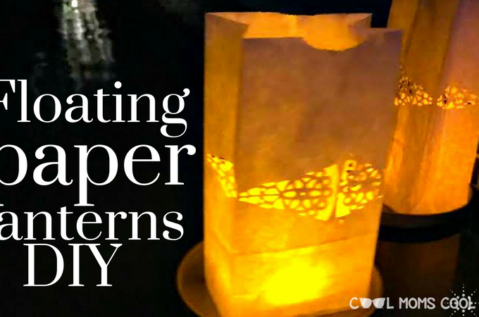 Cool Floating Paper Lanterns DIY