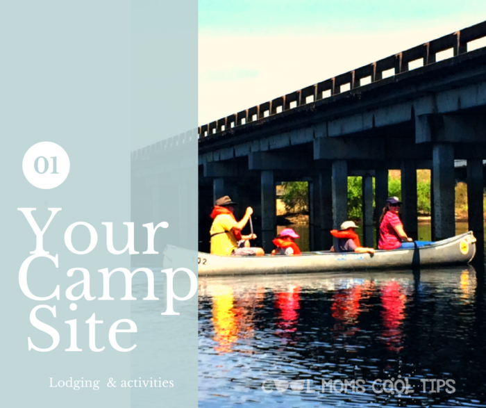 lodging and activities are key for your camping trip cool moms cool tips