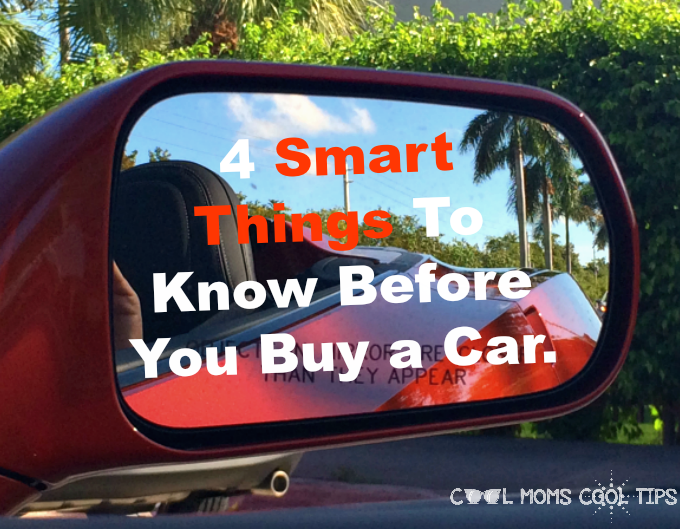 4 Smart Things To Know Before You Buy a Car.