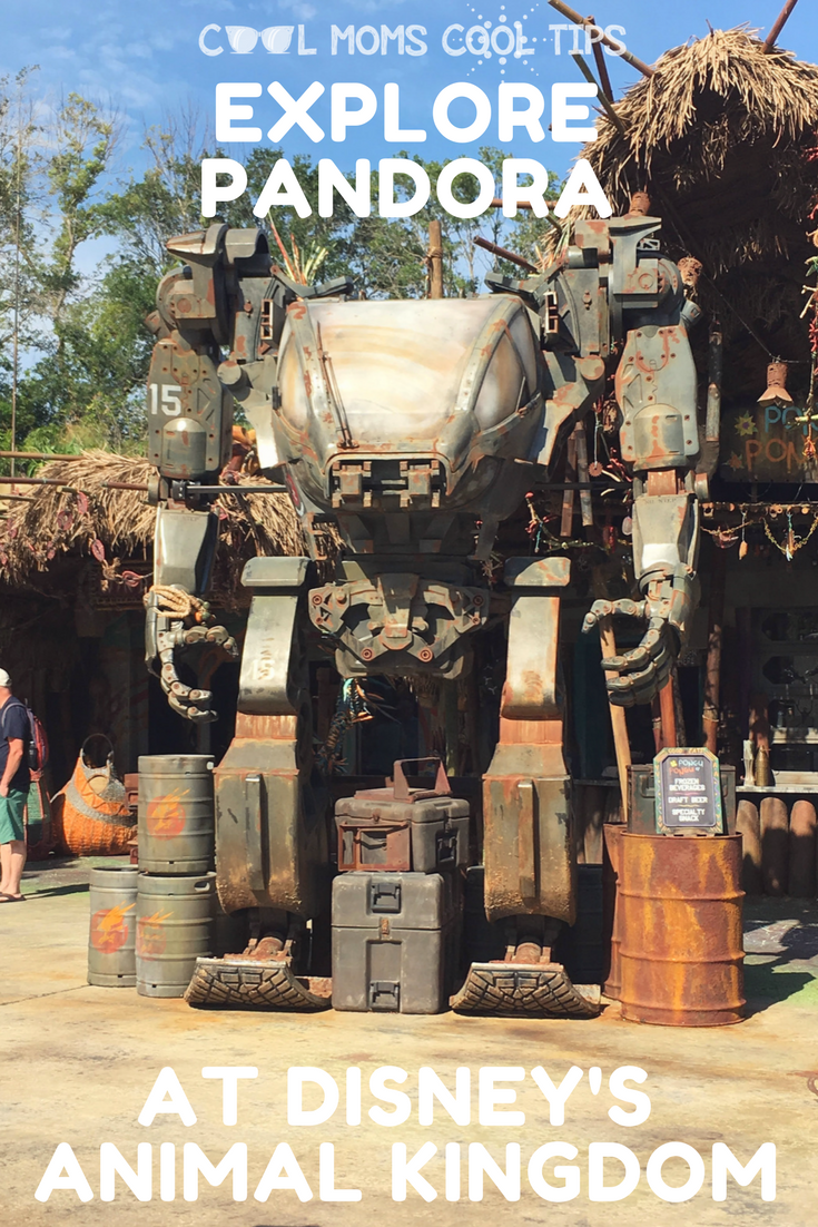 Visiting Animal Kingdom? Curious about Pandora?  We tell you what you will see there
