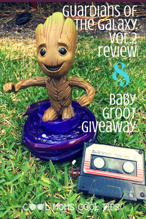 Want your own baby groot? We have a giveaway for you plus a review on the marvel disney movie Guardians of the Galaxy vol. 2