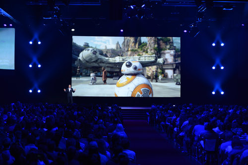 BB8 is among the attractions coming to Disney Parks.