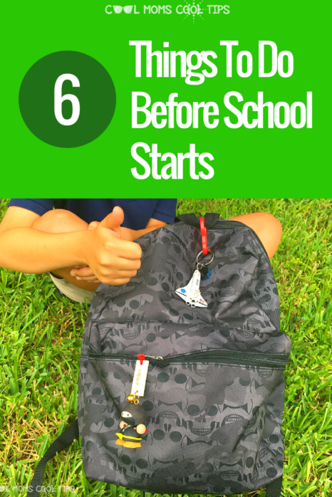 Not sure what you need to do before school to engage your kids? Need a list of things to do before school starts? Want to excite kids for school start? We give you 6 Things To Do Before School Starts