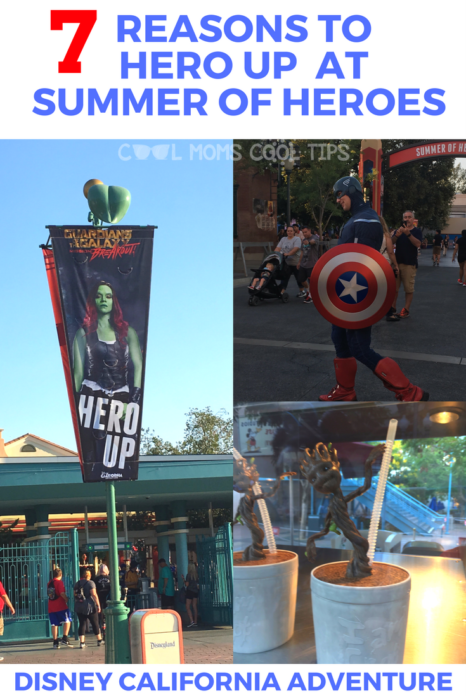 Curious about Disney's Summer of Heroes event?  We give you 7 reasons why you should hero up!