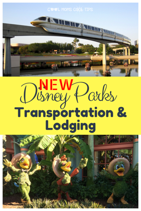 Planning a Walt Disney World vacation? Here is what are the lodging and transportation additional options that will be available soon!