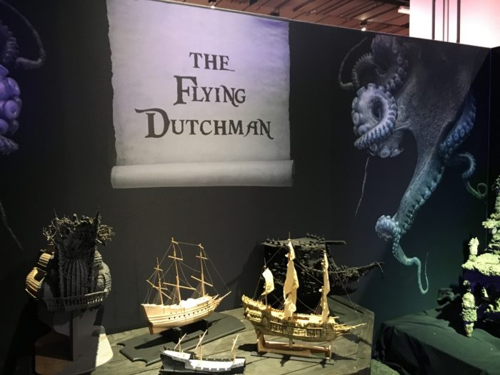 d23 expo disney archives pirates exhibition