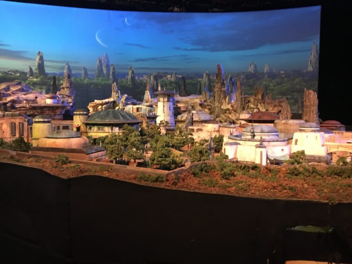 star wars land replica