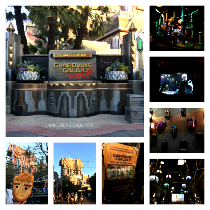 guardians of the galaxy mission break out ride decor disney cool moms cool tips