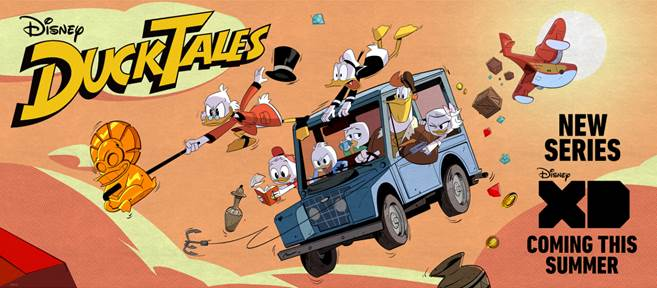 The Return of Duck Tales and Jumping In The Scrooge McDuck Money Bin #DuckTales #D23Expo