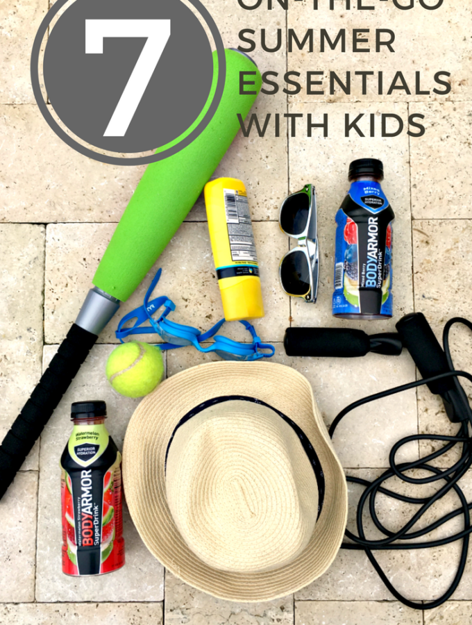 7 On-the-Go Summer Essentials With Kids