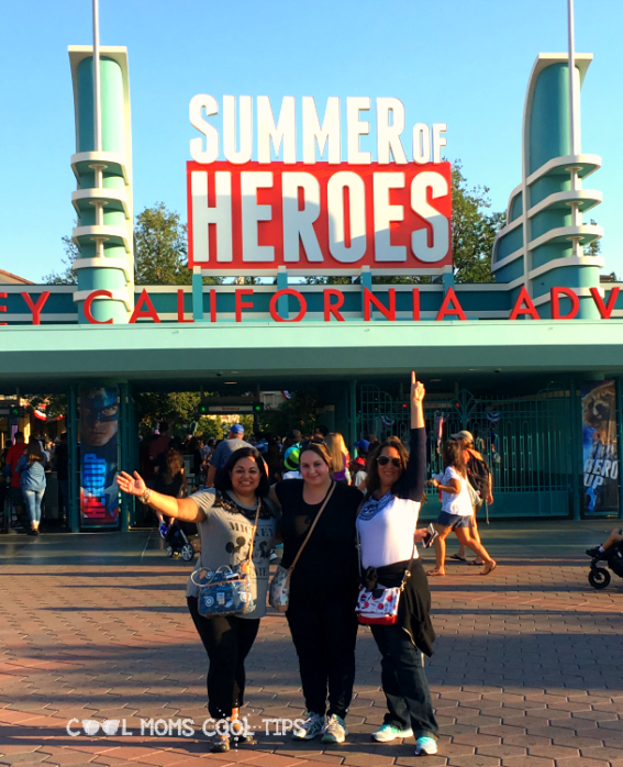 summer of heroes at disney california adventures cool moms cool tips