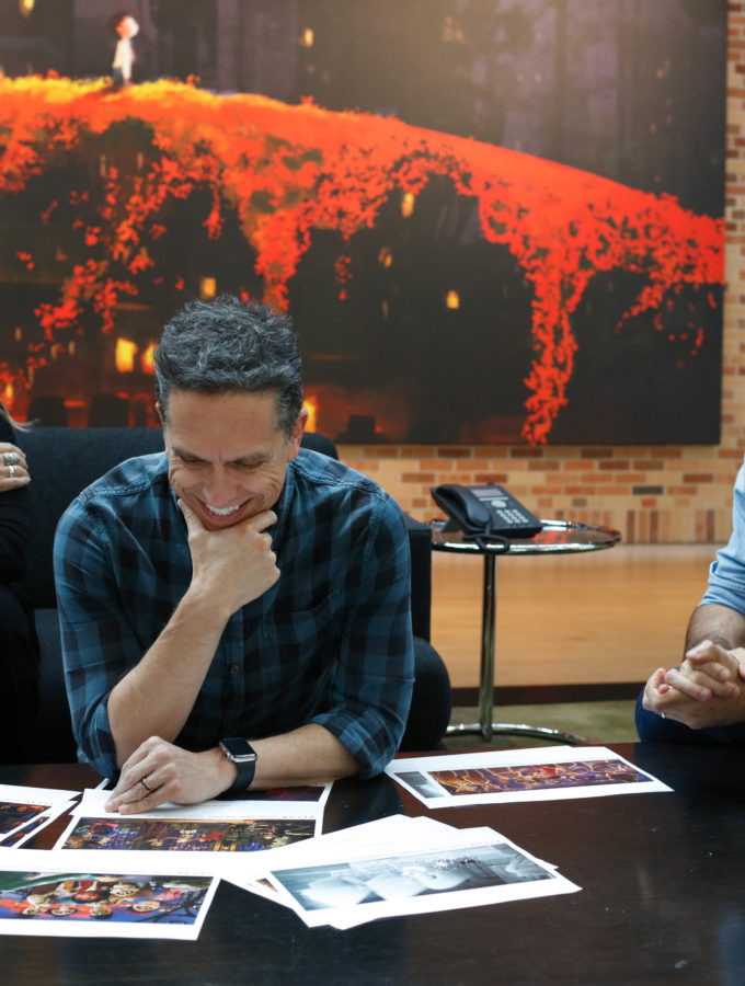 Get to Know The World of Coco with Film Makers Lee Unkich Adrian Molina and Darla K. Anderson