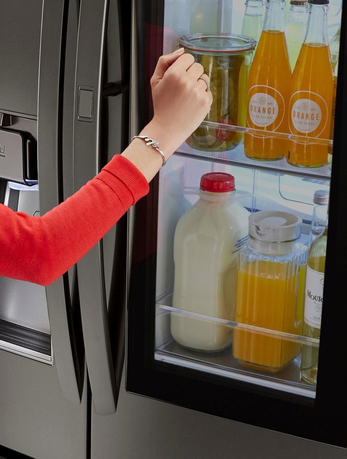 It Is Easy To Love the LG InstaView™ Door-in-Door® Refrigerators