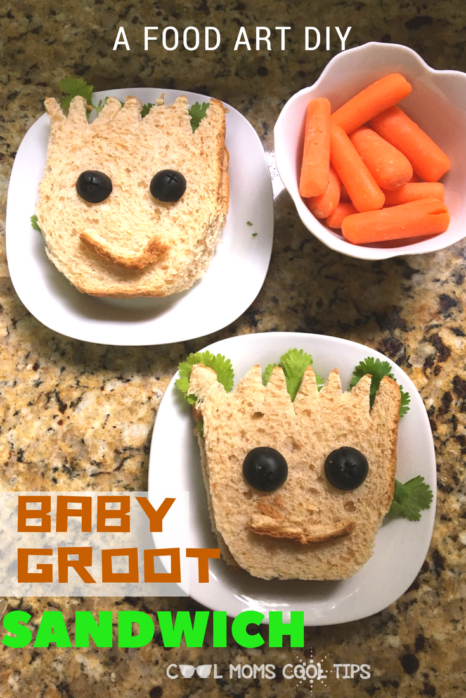 need a guardians of the galaxy snack idea? need a guardian of the galaxy sandwich idea? please your guardians of the galaxy fans with this adorable and easy sandwich! perfect for sweet and savory sandwiches we tell you how!
