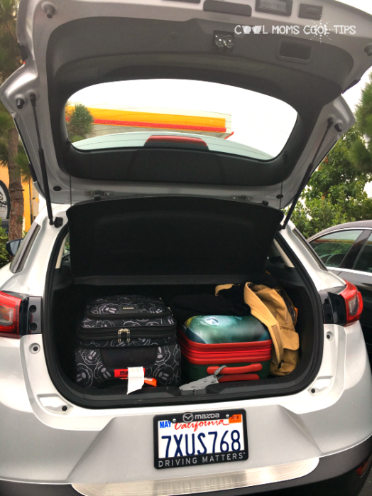 mazda cx3 trunk space cool moms cool tips