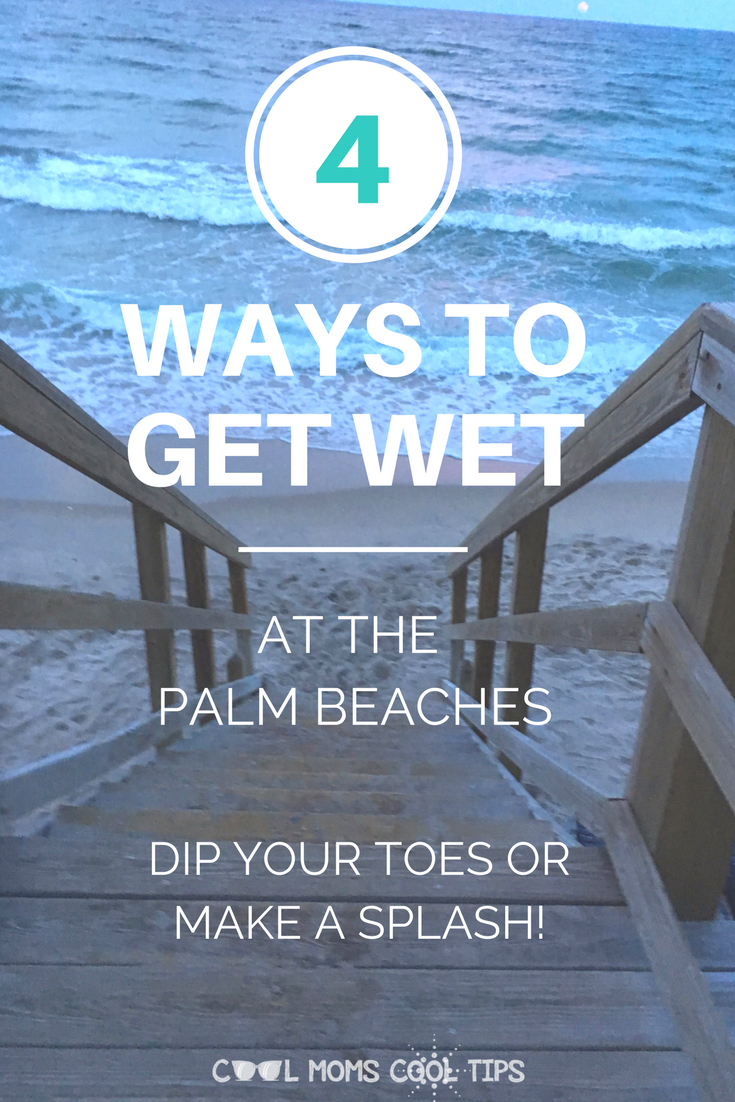 ways to get wet at the palm beaches