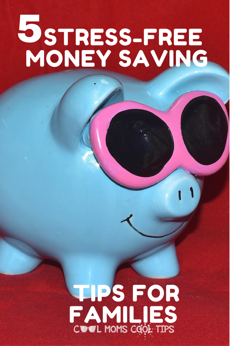 looking for simple and effective ways to save money?  We have 5 sress-free money saving tips for you and your family!