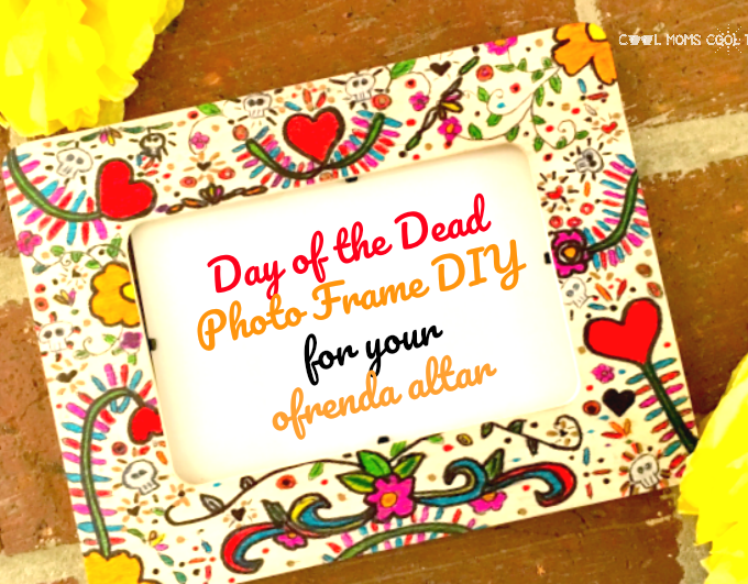 DIY Photo Frame For The Day of The Dead Ofrenda Altar
