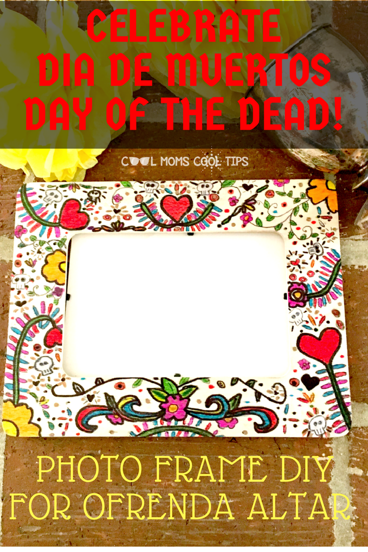 Photo Frame For The Day of The Dead Ofrenda Altar
