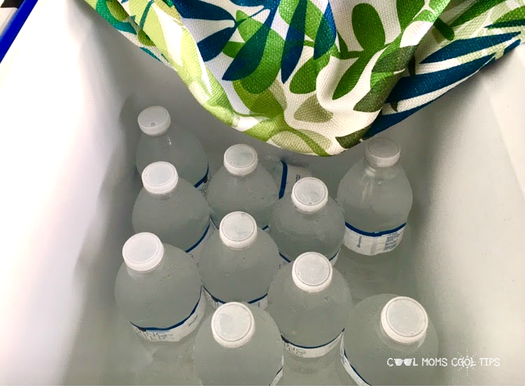 water for beach clean up fundraiser