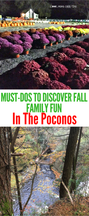 There is so much to do in The Poconos during fall! We tell you about 7 must do family fun in the poconos
