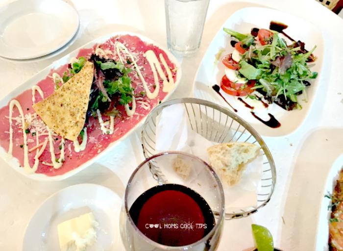 restaurant review for brio happy hour menu