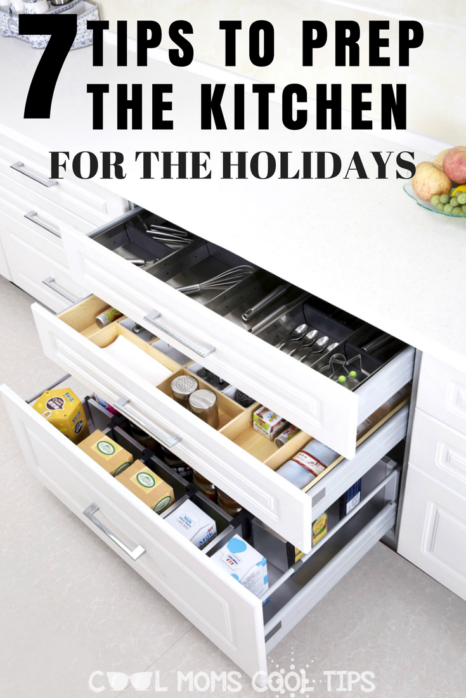 Ready for the holidays? /we have 7 tips for you to prep your kitchen for the festivities