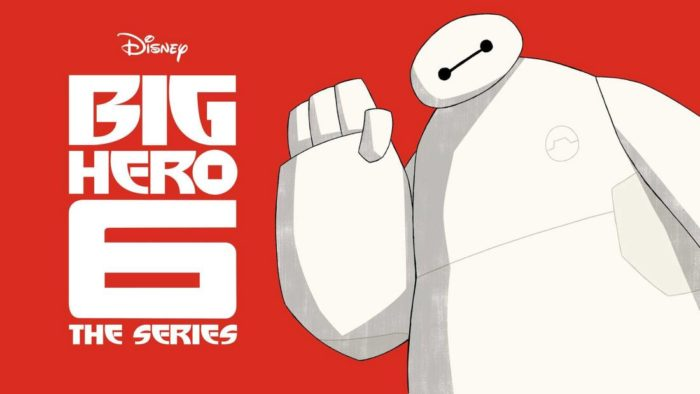 Baymax Returns Disney XD serie