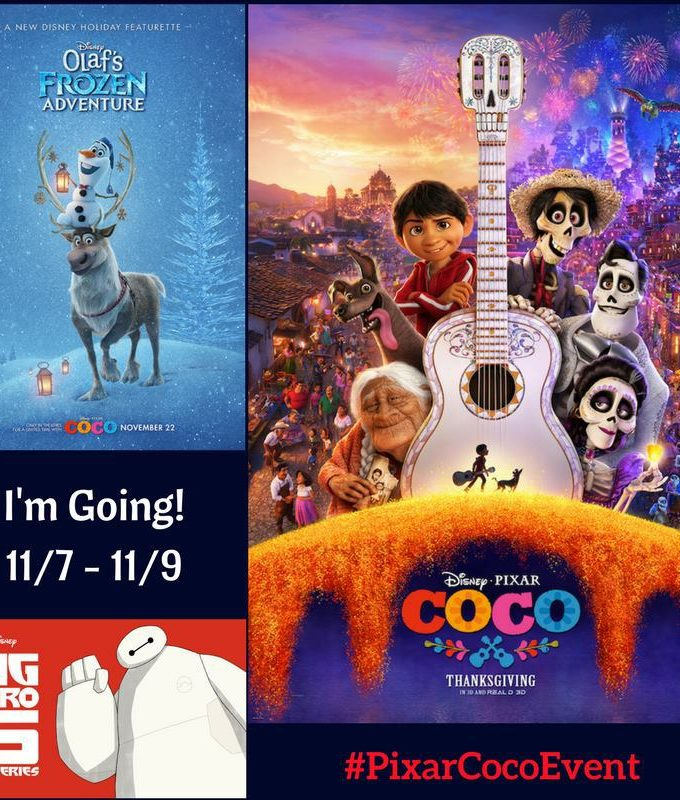I Am Going to the Disney Pixar Coco Event! #PixarCocoEvent