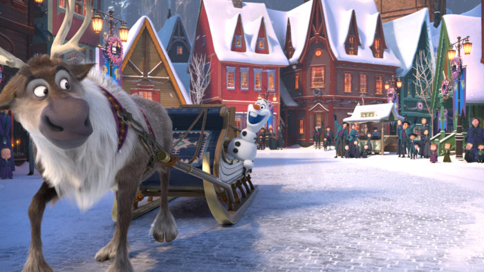 Olaf's Frozen Adventure will be on TV