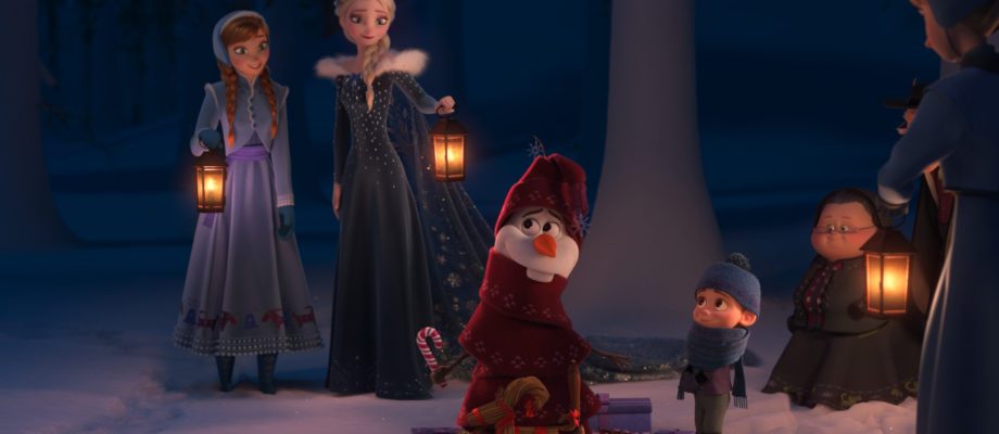 Olaf's Frozen Adventure Will Be On TV!
