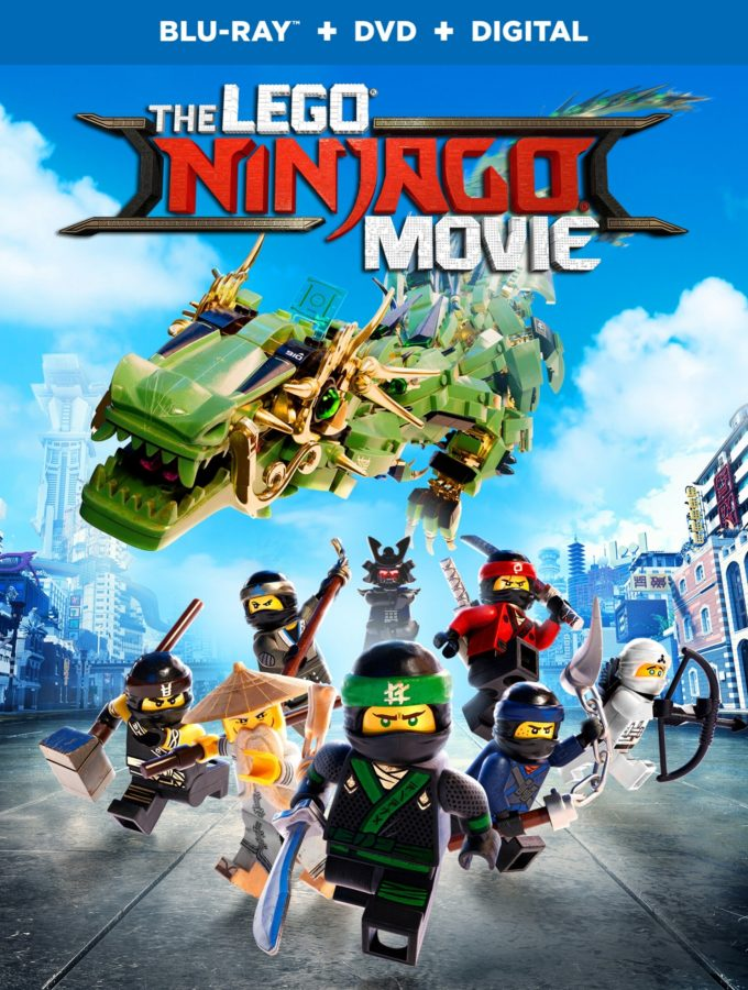 The LEGO® NINJAGO® Movie on Blu-ray plus Giveaway