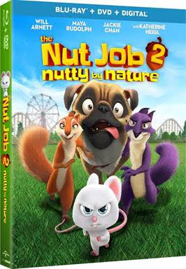 The Nut Job Movie Blu-ray and Prize Pack Giveaway
