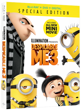Take Despicable Me 3 Home! Giveaway