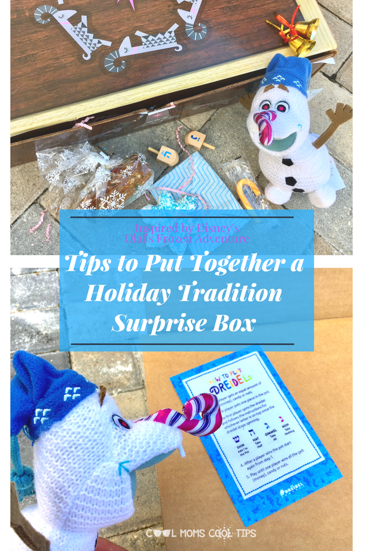 Celebrate traditions a with a fun twist, surprise others with a fun box of holiday traditions!  We tell you how in 4 easy steps