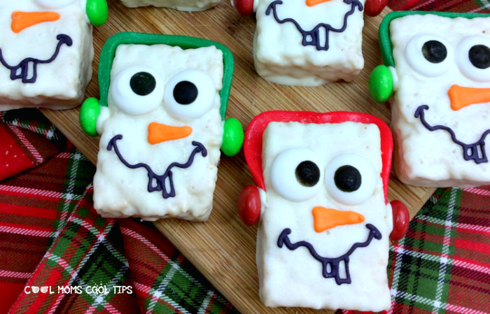 How to make Disney Inspired Olaf snowman treats