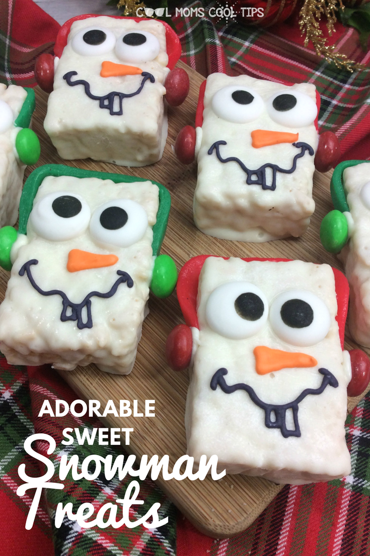 celebrate snow days, winter season and olaf from Disney's Frozen with these adorable sweet snowman treats. They are easy and the how to steps are a breeze.! perfect for an afternoon snack or for Frozen themed parties.